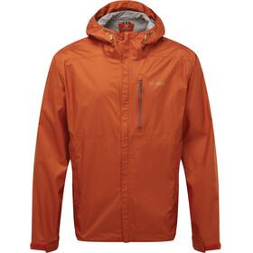 Sherpa Kunde Chaqueta de 2,5 capas Hombre, naranja